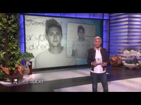 Download Niall Horan performs This Town on the Ellen Show! On Musiku.PW