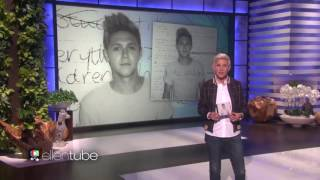 niall horan performs this town on the ellen show