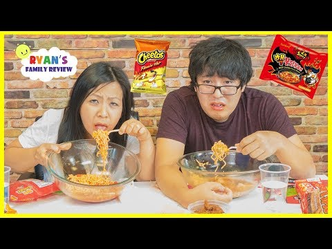 Xxx Mp4 Extreme Spicy Noodle Challenge 2x Loser Drinks Hot Sauce With Ryan S Family Review 3gp Sex