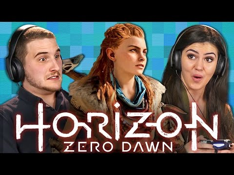 HORIZON ZERO DAWN Teens React Gaming