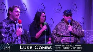 CMA Interview with Luke Combs