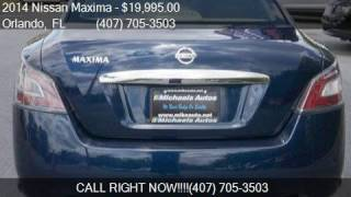 2014 Nissan Maxima 4dr Sedan 3.5 SV for sale in Orlando, FL
