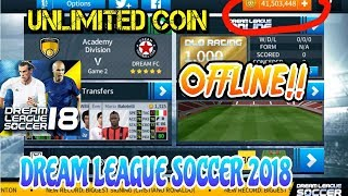 DREAM LEAGUE SOCCER 2018 MOD UNLIMITED COIN🔓.... Free download📥🎮