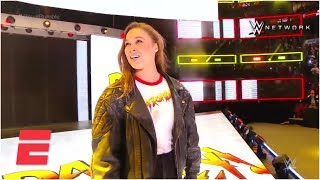 Ronda Rousey makes her big WWE entrance | ESPN