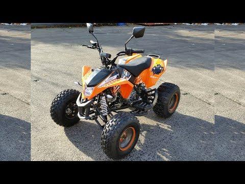 EGL MADIX Road Legal 50cc Quad - REVIEW !!!