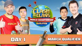 World Championship - March Qualifier - Day 1 - Clash of Clans