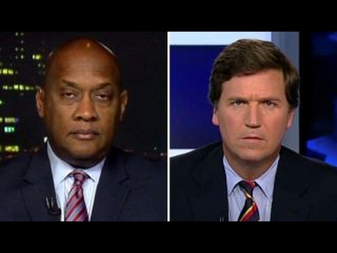 Tucker confronts Dem boycotting Trump inauguration