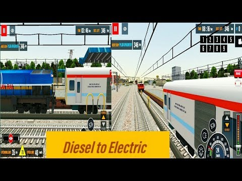 Indian train simulator 2018 diesel to electric engine change