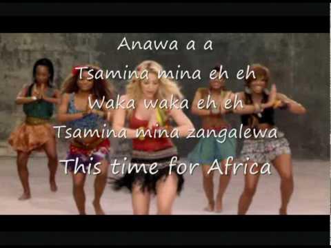 Xxx Mp4 Shakira Waka Waka Lyrics 3gp Sex