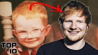 Top 10 Young Celebrities You Won't Recognize Today