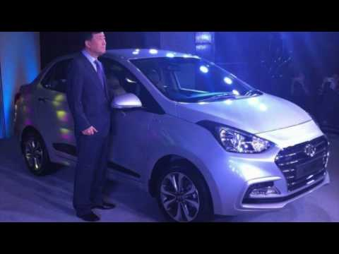 2017 Hyundai Xcent Facelift Launched in India - हिंदी में all details