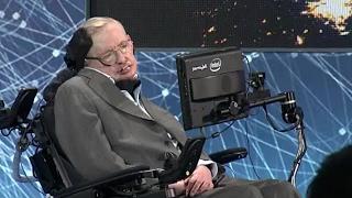 Stephen Hawking Debuts New Voice