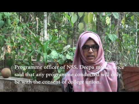 Salwa Adbul Kadher: Madapally college SFI's ''Party office