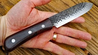 Making a Knife from Rasp - Knife Making for Beginners