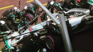 F1 2016 Monaco : Lewis Hamilton Pit Stop at Monaco Grand Prix 2016