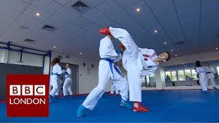 Monarch airlines collapse leaves England karate Under-21 team out of pocket - BBC London News