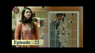 Tumhare Hain Episode 22 - 24th July 2017 - Top Pakistani Drama