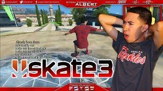 X7 Albert Plays Skate 3 w/ Face cam! Episode 2