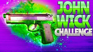 JOHN WICK CHALLENGE (Fortnite Battle Royale)