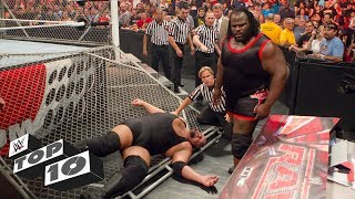 Infamous cage crashers: WWE Top 10