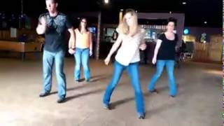 Linedance to Luke Bryan's