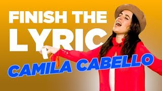 Camila Cabello Covers Shawn Mendes, Ed Sheeran & More | Finish The Lyric | Capital