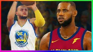 NBA FINALS  REMATCH! Cleveland Cavaliers vs Golden State Warriors, LeBron vs Curry   NBA 2K18