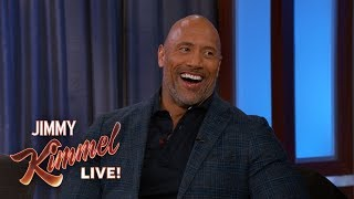 Dwayne The Rock Johnson Reveals He Has Strong Swimmers
