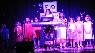 'মেঘের কোলে রোদ হেসেছে'- দলীয় সঙ্গীত: বিসিএই ও বাংলা স্কুল