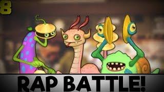 Clamble vs Dragong vs Scargo - My Singing Monsters Rap Battles #8