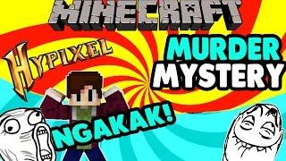 NGAKAK! Maen Murder Mystery Feat NevinGaming, Ranelsi Sumarta - Minecraft Minigames