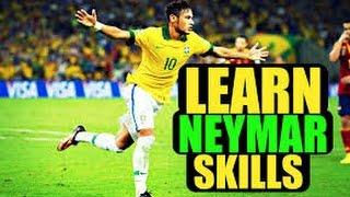 Neymar Skills - Những kỹ thuật qua người mới và đỉnh cao nhất của Neymar 2016