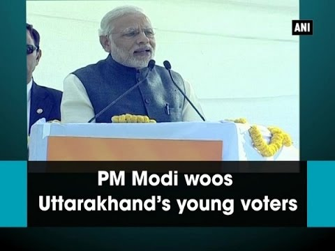 PM Modi woos Uttarakhand's young voters - ANI News