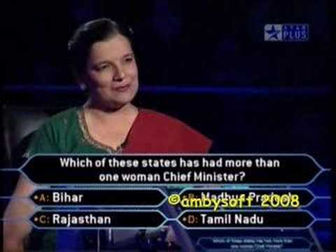 KBC 3 - SRK - Insulted by a Lady Professor