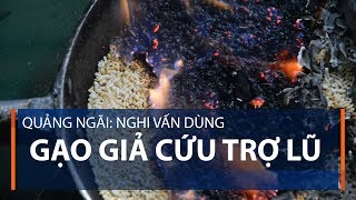 Quảng Ngãi: Nghi vấn dùng gạo giả cứu trợ lũ  | VTC1
