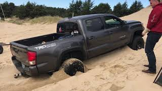 2016 Tacoma trd off-road Crawl Control in Sand Bottomed Out