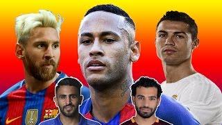 أغلى 10 لاعبين في العالم لعام 2017 | رونالدو خارج ال5 الأوائل لأول مرة !