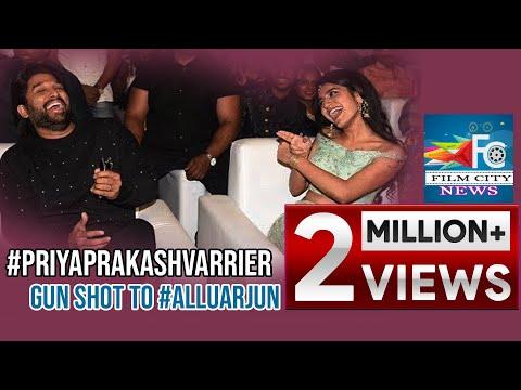 Xxx Mp4 PriyaPrakashVarrier Gun Shot To AlluArjun At Lovers Day Movie Audio Launch FILM CITY 3gp Sex