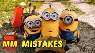 12 Poorly  Hidden MISTAKES Behind Minions MISTAKES