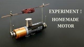 Homemade motor - How to make a simple motor