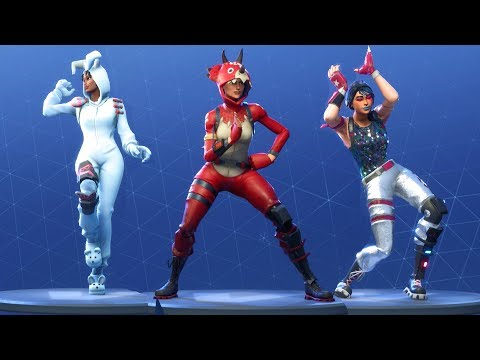 Fortnite All Dances Season 1 to 4