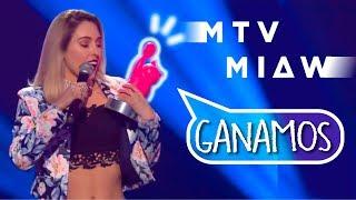 Así GANÉ los PREMIOS MTV MIAW | Sorpresa 100% | Kika Nieto