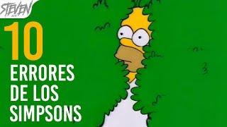 TOP 10 Errores De Los Simpsons Que Quizás Nunca Habías Notado | 2017