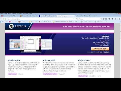 Tutorial NoSQL-Lazarus and Remote NoSql Database - #Part 1