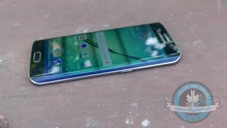 Samsung Galaxy S6 Edge Gold 64GB Unboxing and Hands On Review - iGyaan