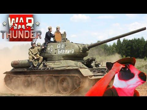 T-34 Vernietiging - War Thunder T-34 1940/1941 en Spitfire Gameplay