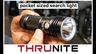 Search & Rescue light in your back pocket - Thrunite TC20