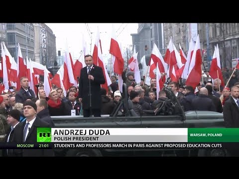 Xxx Mp4 Polish President Marches With Nazis In Warsaw 3gp Sex