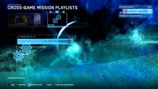 Halo MCC The Master Chief Saga Playlist Glitch?! Help... @_@