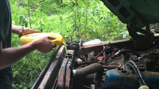 68 F100 Revival (20 Years Forgotten in the Woods) PART 2- Roadkill (Thunderhead289 Style)